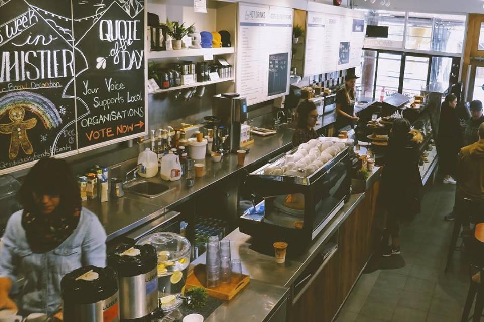 Moguls cafe whistler