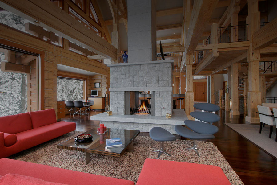 interior shot of Holiday Whistler Accommodations