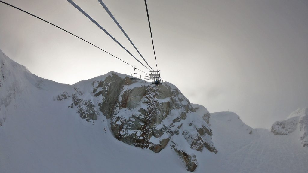 The Peak Express Chair in Whistler, BC