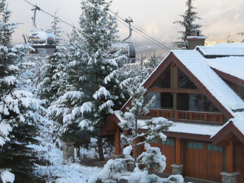 Whistler chalet rental under the gondola by Holiday Whistler.
